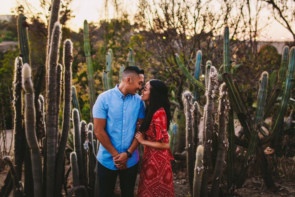 Balboa Park Evening Engagement Photography Session San Diego-71.jpg