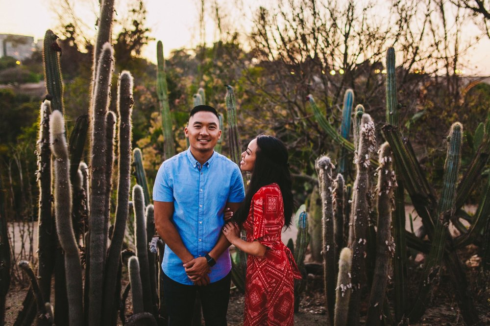 Balboa Park Evening Engagement Photography Session San Diego-70.jpg