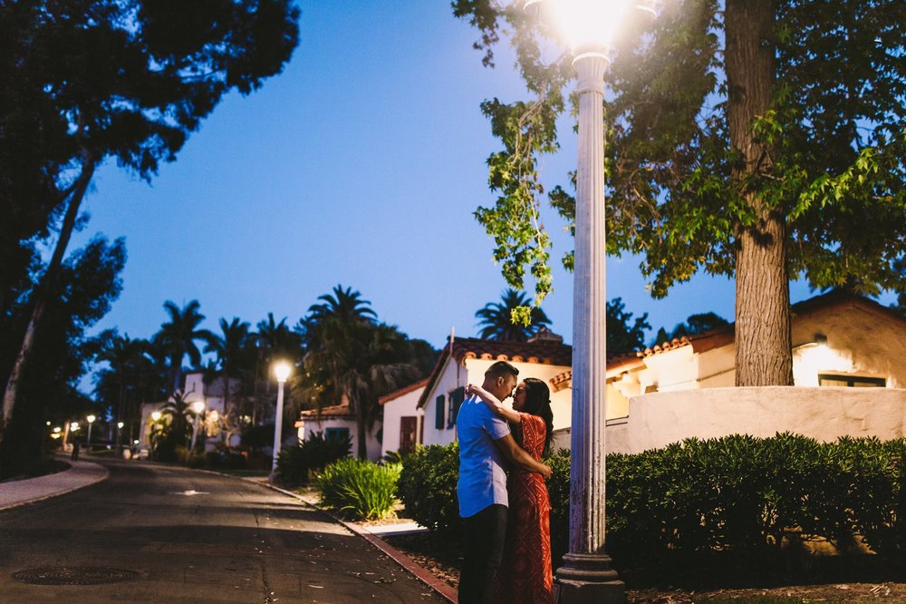 Balboa Park Evening Engagement Photography Session San Diego-73.jpg