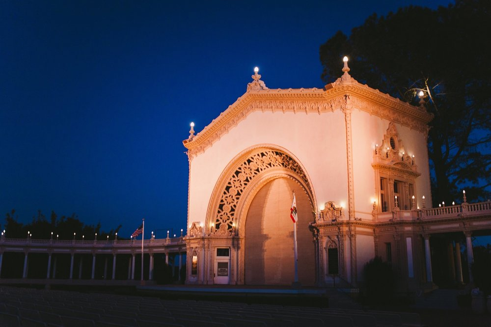 Balboa Park Evening Engagement Photography Session San Diego-75.jpg