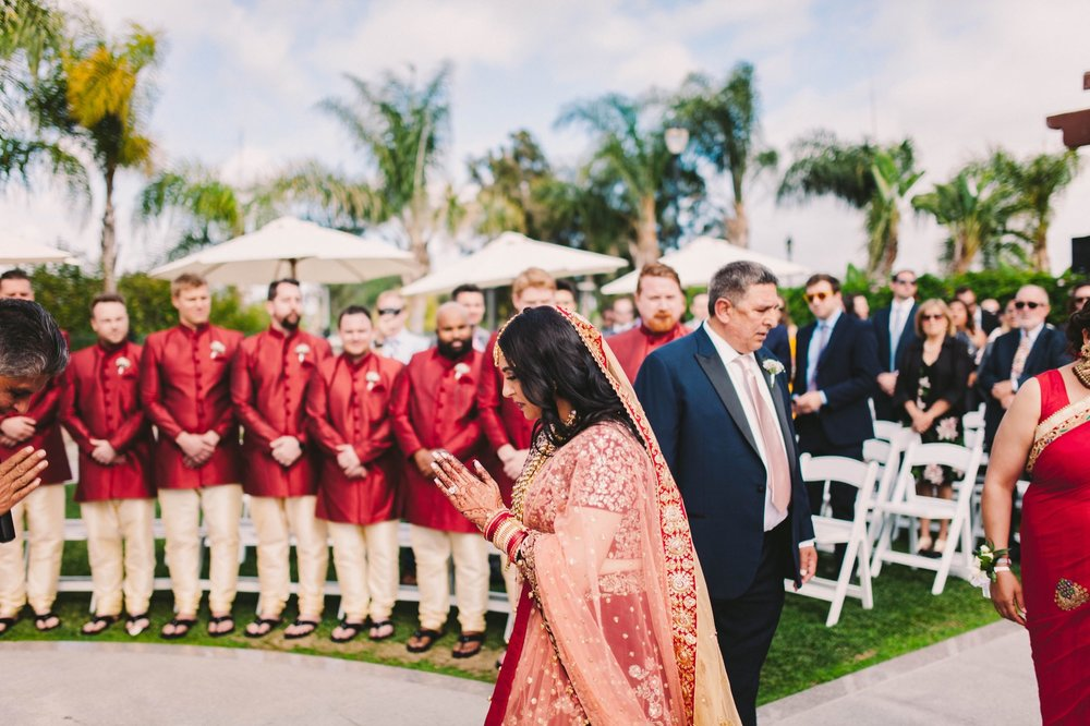 Old Ranch Country Club Orange County Indian Fusion Wedding Photography -297.jpg
