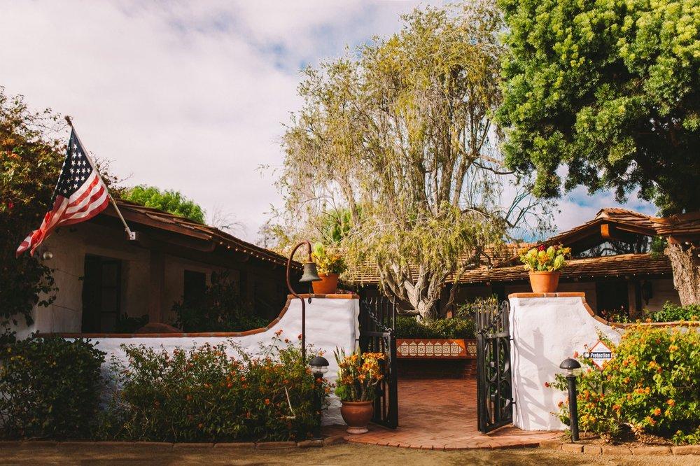 Historic Old Rancho Wedding Venue in Carlsbad