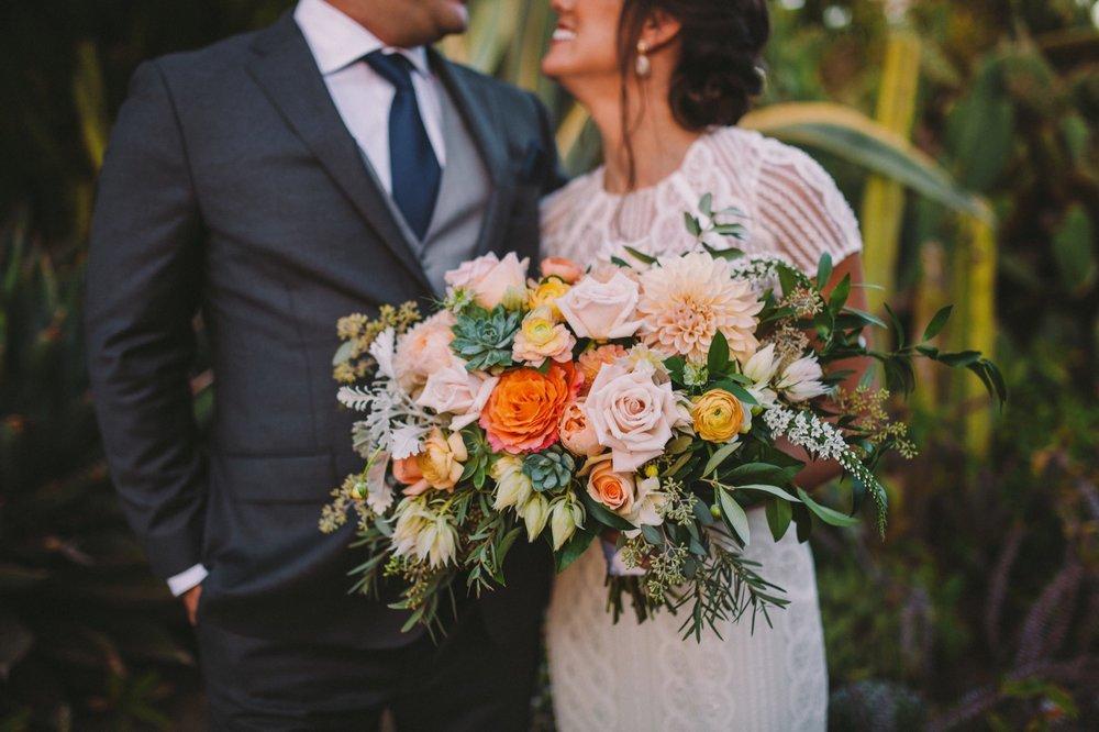 Flower Frenzy Encinitas Bridal Bouquet