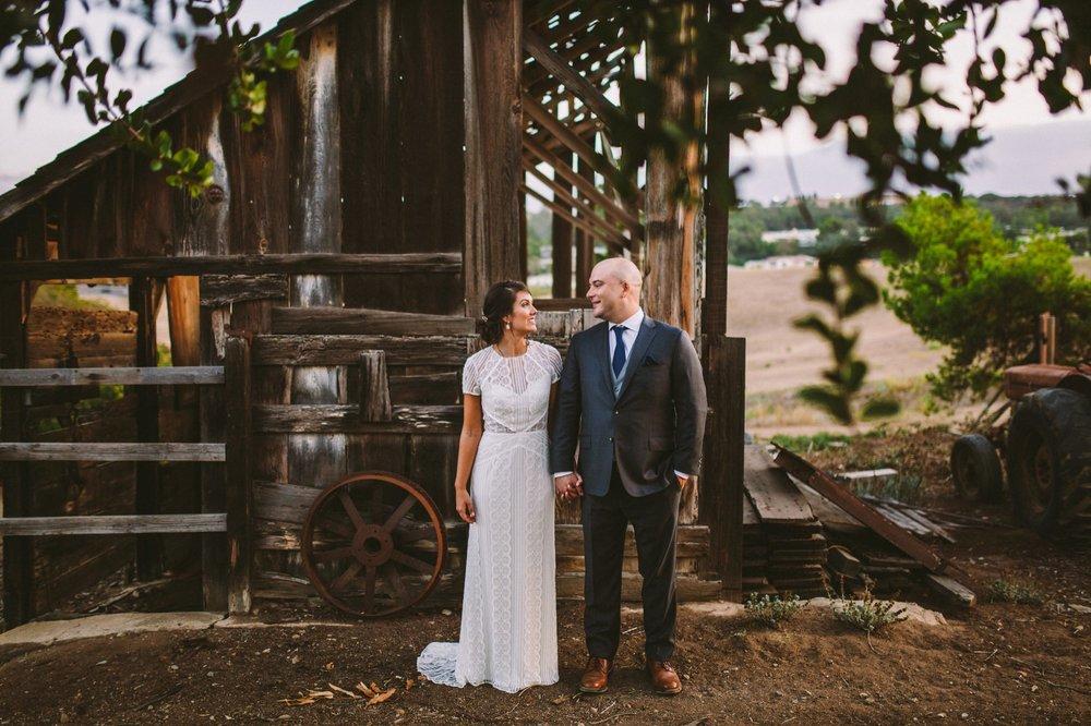 The Old Rancho Rustic Barn Wedding Venue