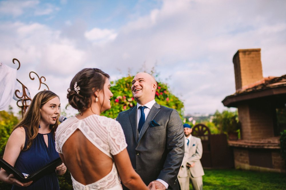 Writer Caroline Levich Acting as Officiant at Friend's Wedding