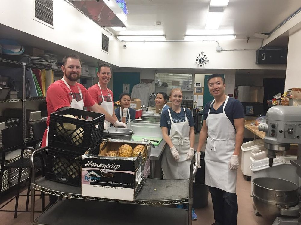 Food Prep with City Team San Jose, 2017