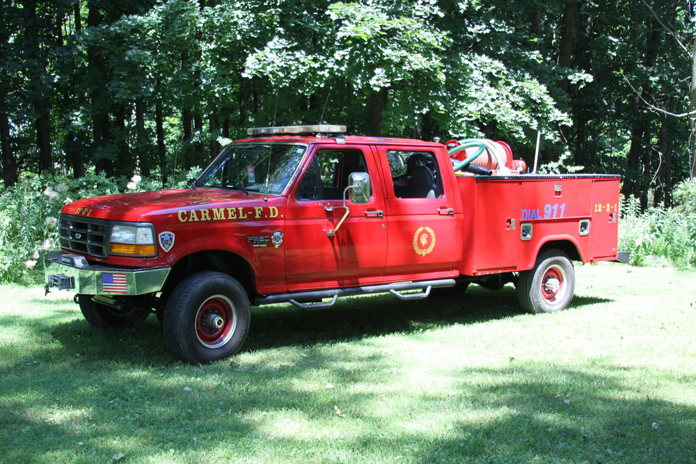 12-3-1 - Responsible for fighting brush fires and transports the