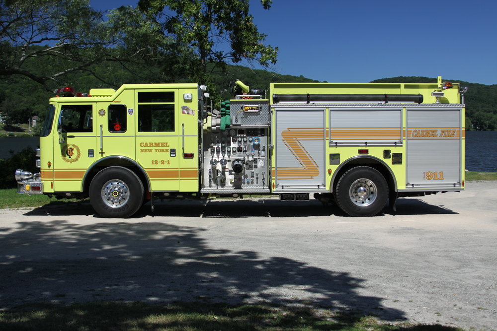 Engine 12-2-1 - Primary engine- Responsible for extinguishing all structural fires. Additionally, 12-2-1 handles all gas leaks and alarm emergencies.