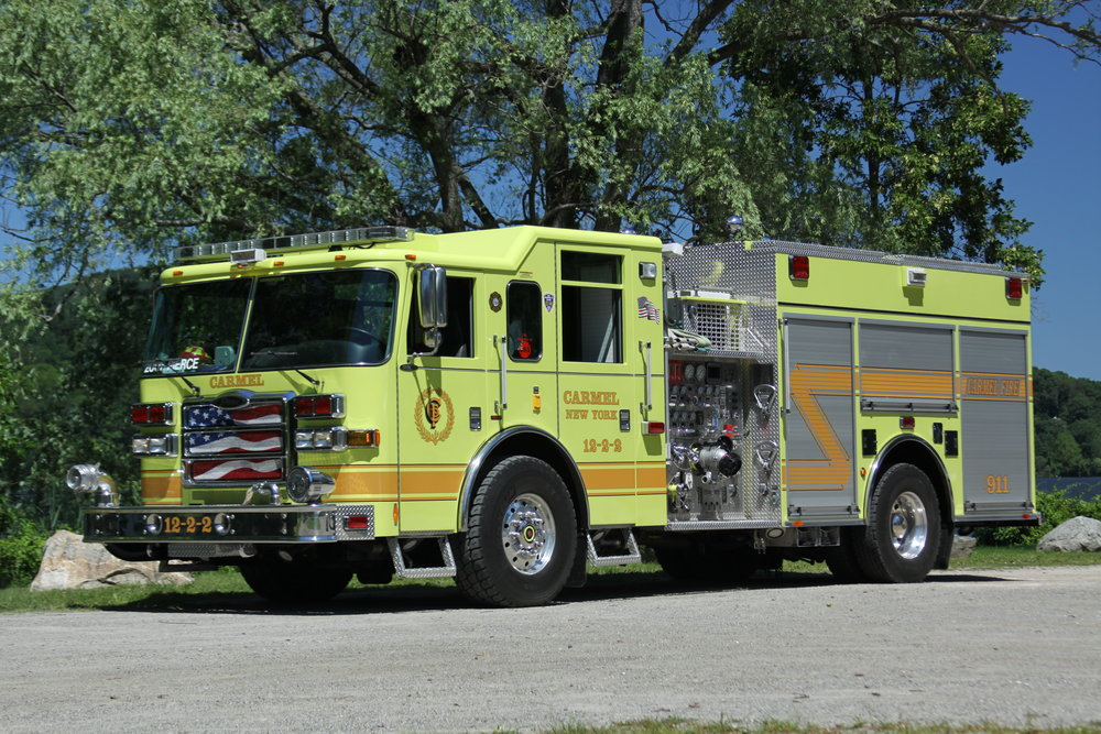 Engine 12-2-2 - Secondary engine- Responsible for motor vehicle accidents, hazardous materials and vehicle fires. 12-2-2 also carries the