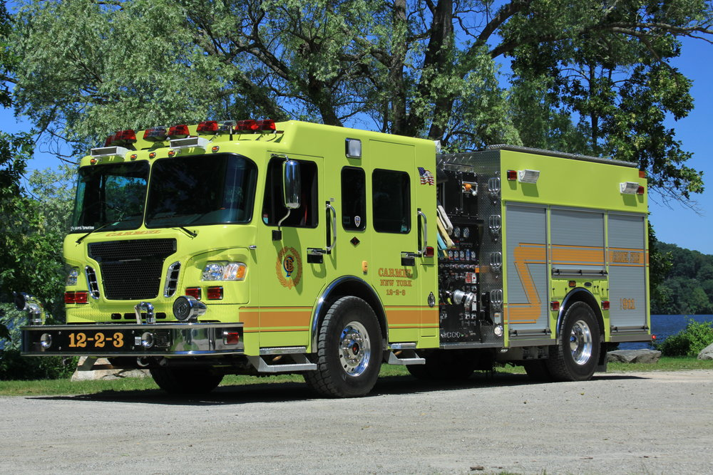 Engine 12-2-3 - Third engine- Responsible for water supply and drafting (pulling water from a lake or pond.)