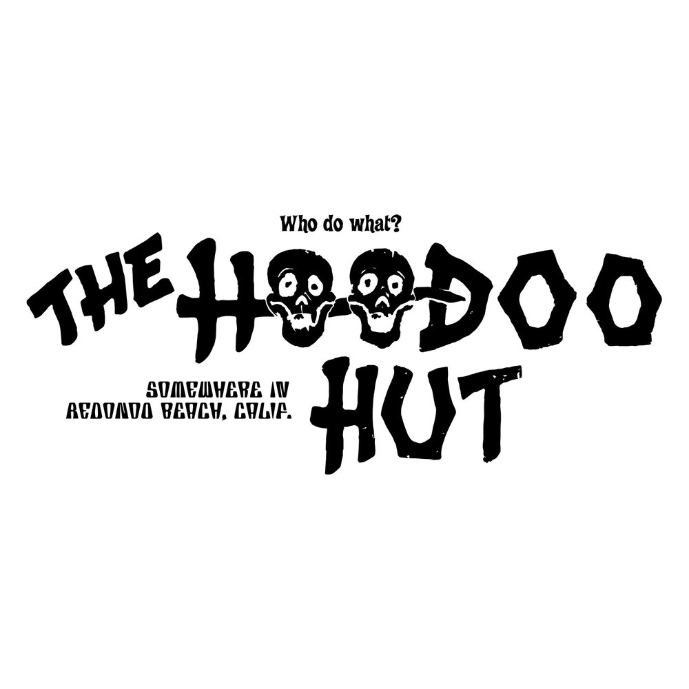 The Hoodoo Hut Tiki Bar (BW)