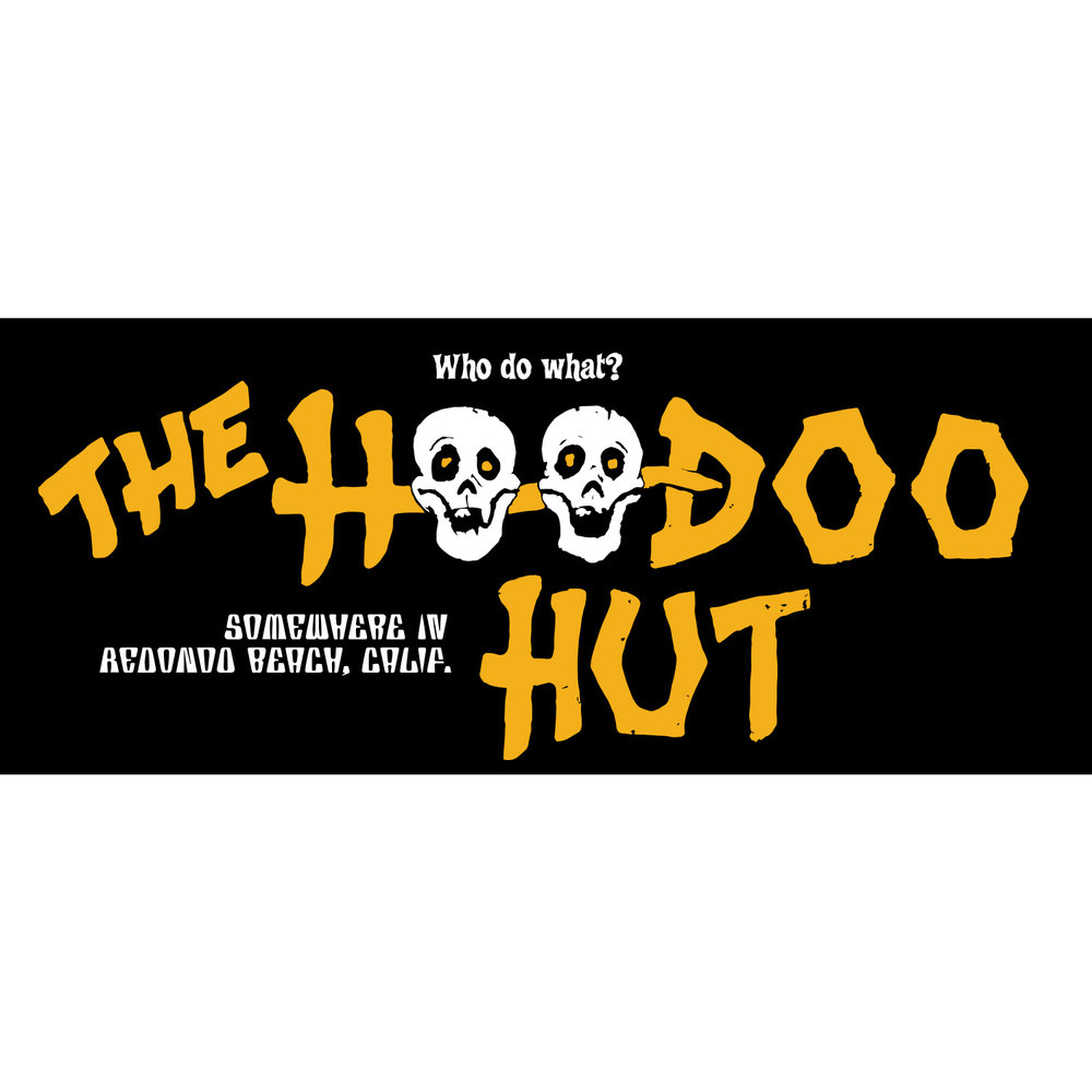 The Hoodoo Hut Tiki Bar (Color)