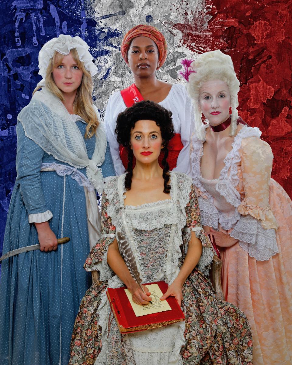 PHOTO BY STU SELLAND; pictured (front): Sarah Mitchell; (rear, l-r):Heather Kellogg, Kimberly Ridgeway, Suzie Shepard