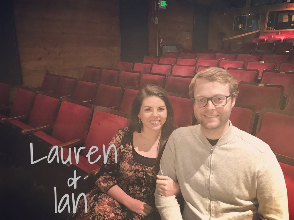 Ian and Lauren - READ WHAT IAN HAS TO SAY ABOUT THE REVOLUTIONISTS!READ WHAT LAUREN AND IAN HAS TO SAY ABOUT GREAT EXPECTATIONS!