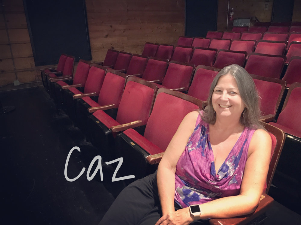 Caz - READ WHAT CAZ HAS TO SAY ABOUT THE REVOLUTIONISTS!