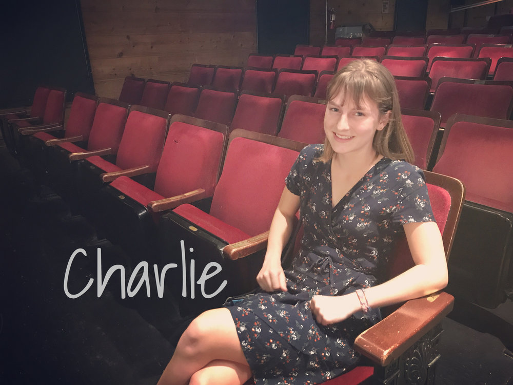 Charlie - READ WHAT CHARLIE HAS TO SAY ABOUT THE REVOLUTIONISTS!READ WHAT CHARLIE HAS TO SAY ABOUT GREAT EXPECTATIONS!