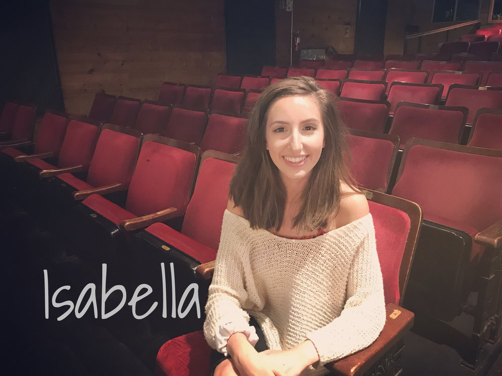 Isabella - READ WHAT ISABELLA HAS TO SAY ABOUT THE REVOLUTIONISTS!