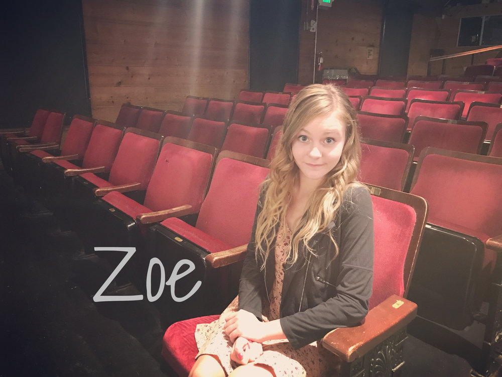 Zoe - READ WHAT ZOE HAS TO SAY ABOUT THE REVOLUTIONISTS!