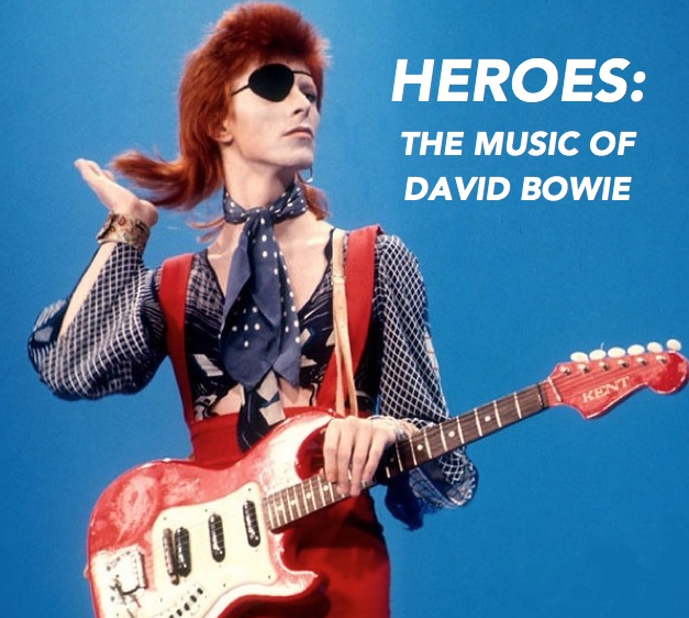 Preschool/Kindergarten:Heroes The Music of David Bowie -Using the music of David Bowie, students will learn basic theatrical skills, musicianship and choreography. Students will focus on connection and empathy while putting together a brief invited presentation at the end of the class. -