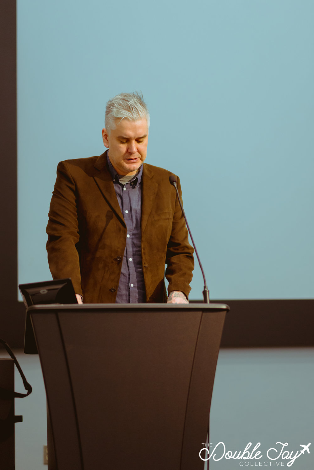 "Opening keynote speaker Glen Coulthard spoke on ""Fanonian Antinomies"", and the work discussed in  Red Skin, White Masks ."