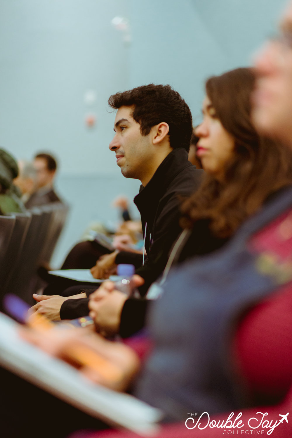 Western's University Student Council's President, Eddy Avila, was one of the public attendees at the conference who showed up bright and early Friday morning, and continued to attend panels all weekend long.