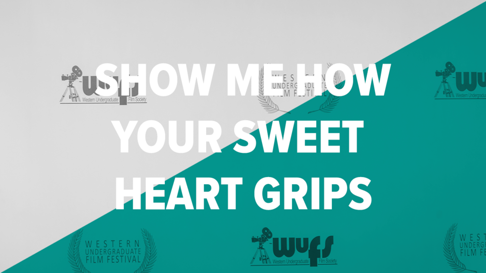 Tied, Second Place:    Show Me How Your Sweet Heart Grips   : Brandon Blendeman