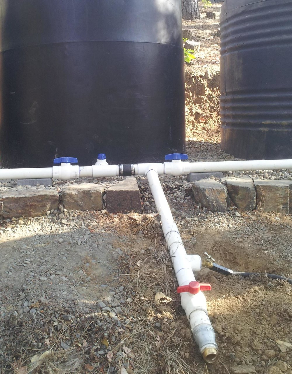 Tank manifold valves permit tanks to be isolated for repairs, cleaning, or to play a role in water use management.