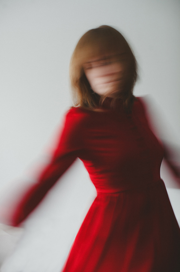 red-dress-self-portrait