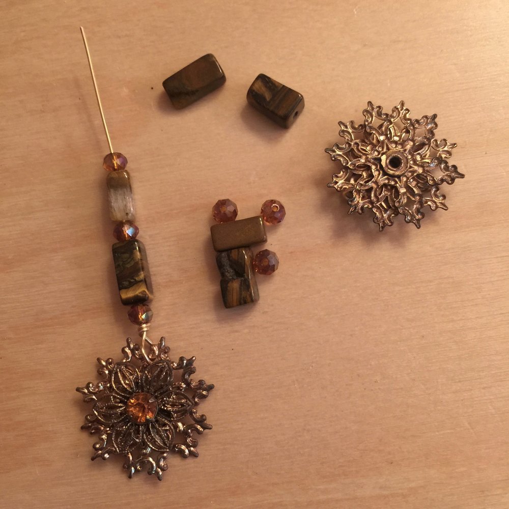 From screw back to pierced earrings. Under resparkable construction.