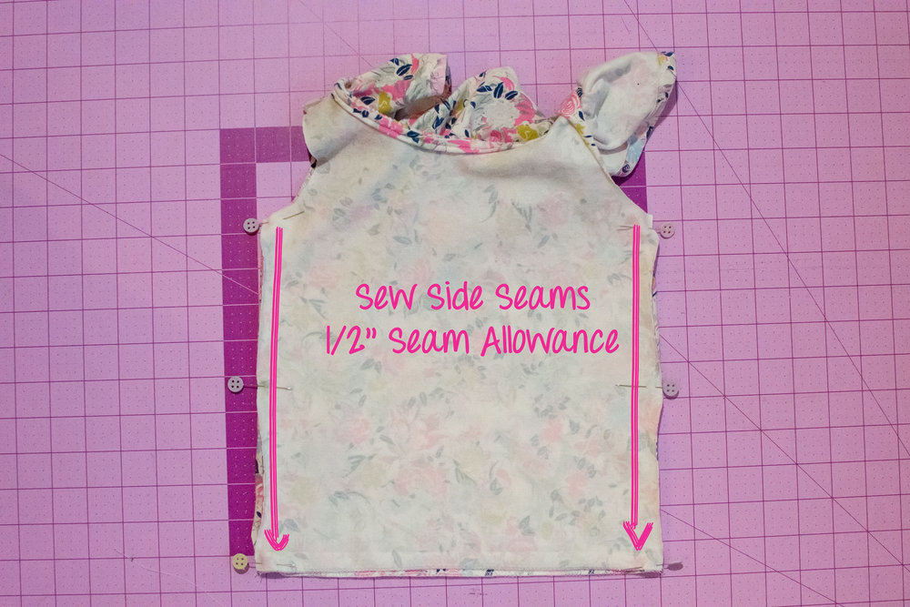sew side seams