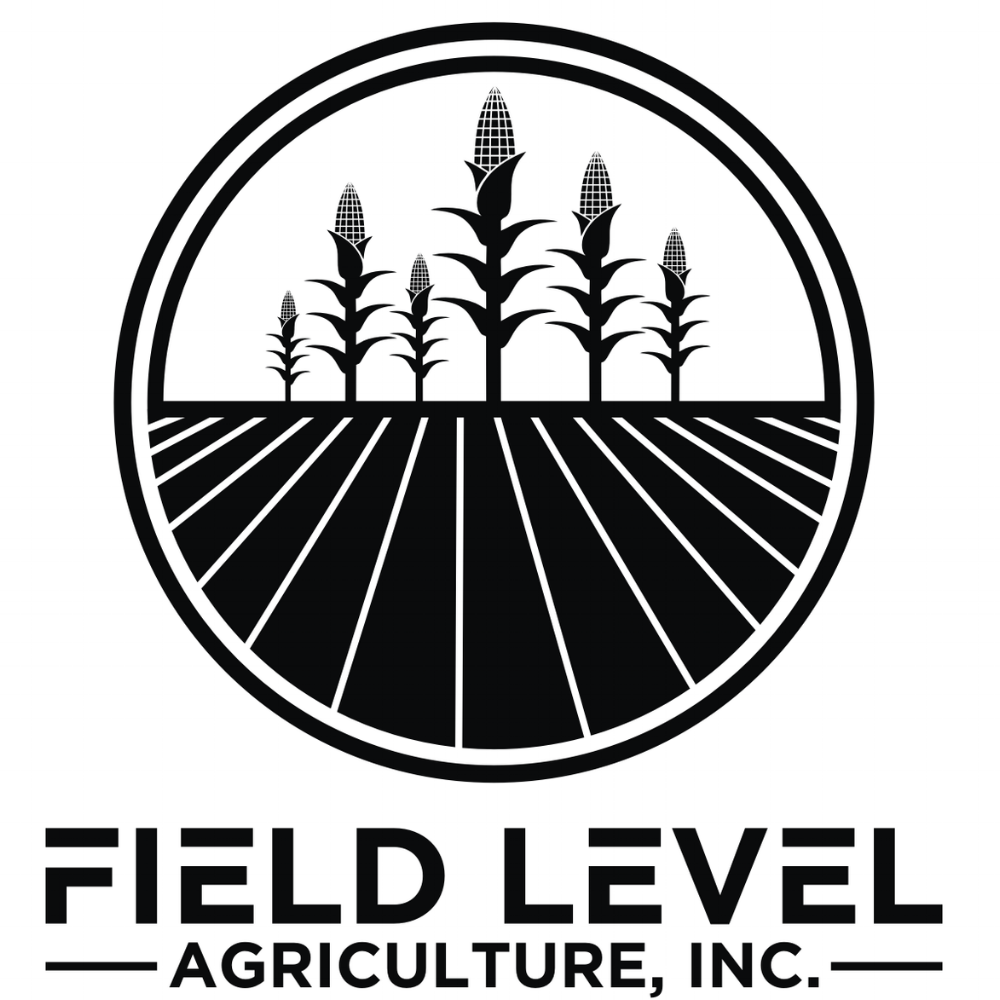 Field Level Ag - black on white