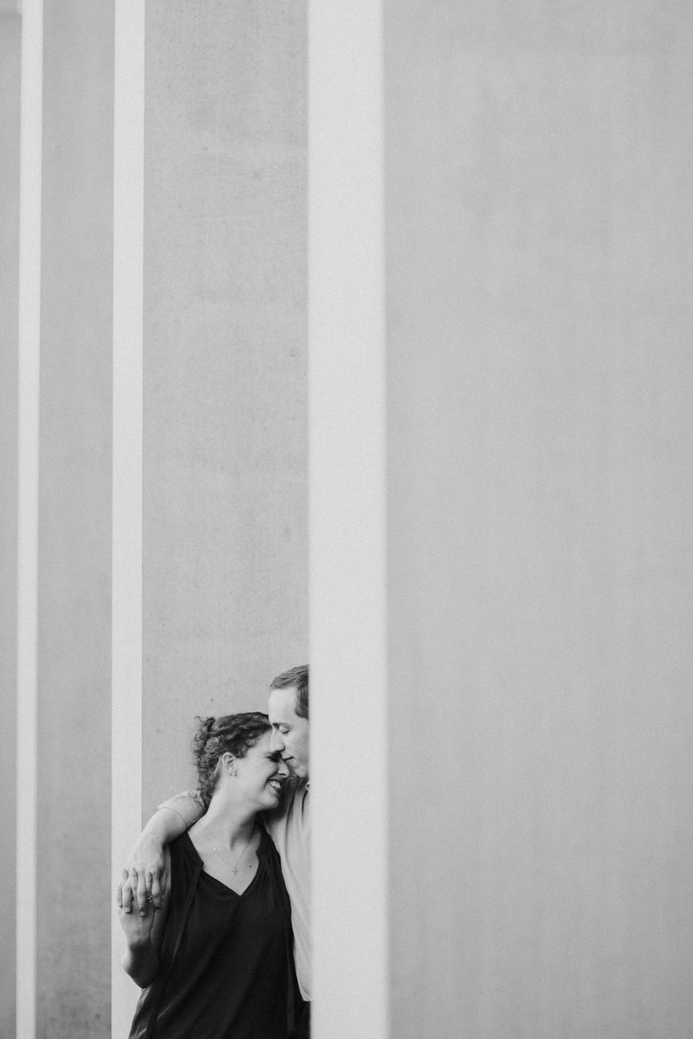 Emily + Justin | Kimbell Art Museum Engagement Session