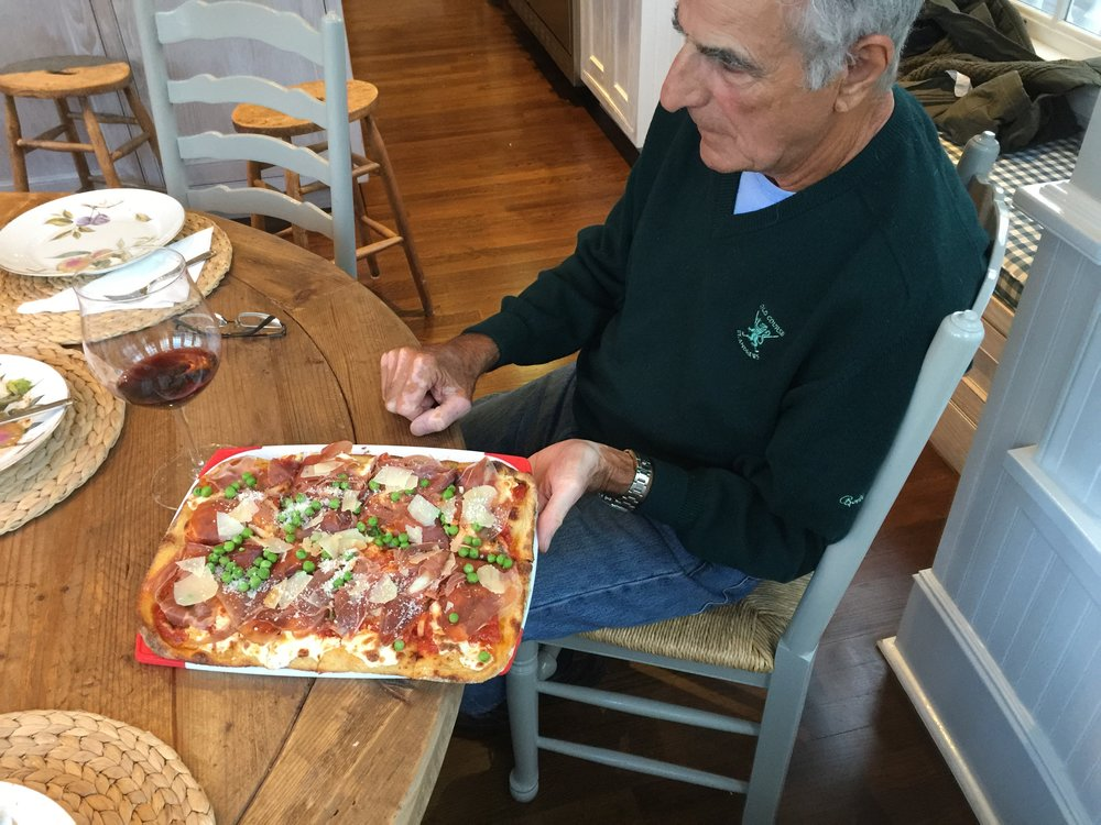 My Dad & Steve's Prosciutto Pie