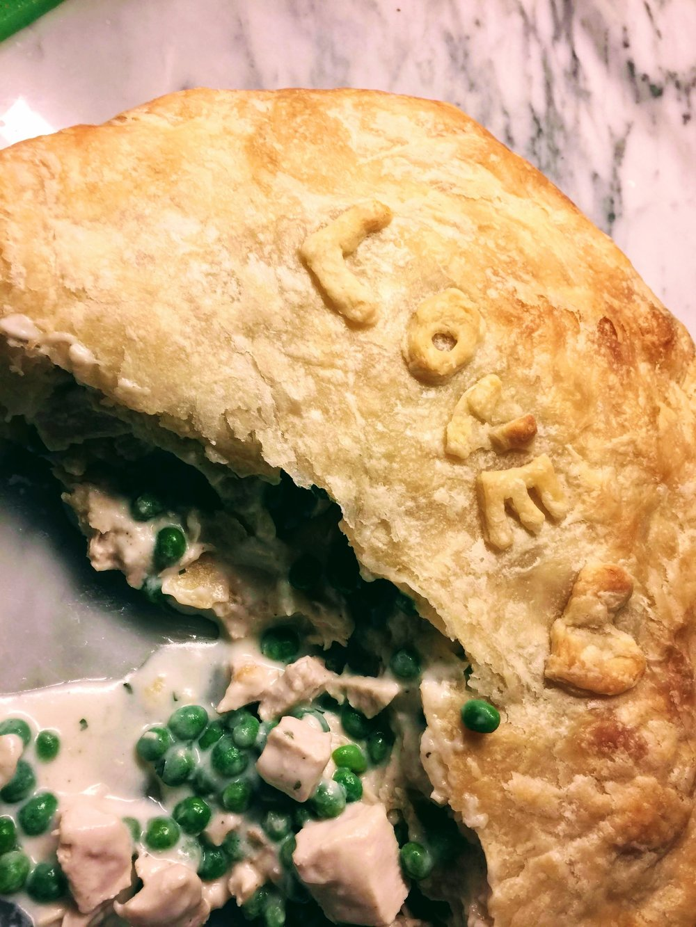 This Turkey Pot Pie makes the most of Thanksgiving leftovers.