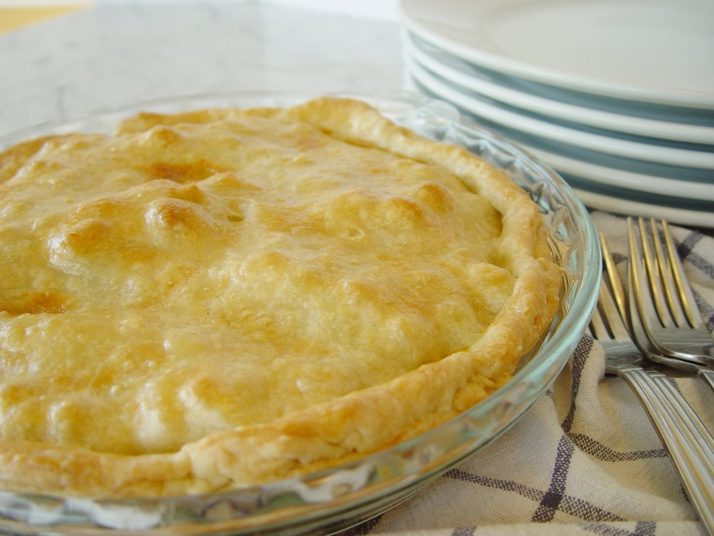 A Traditional Chicken Pot Pie is sure to please a hungry family.