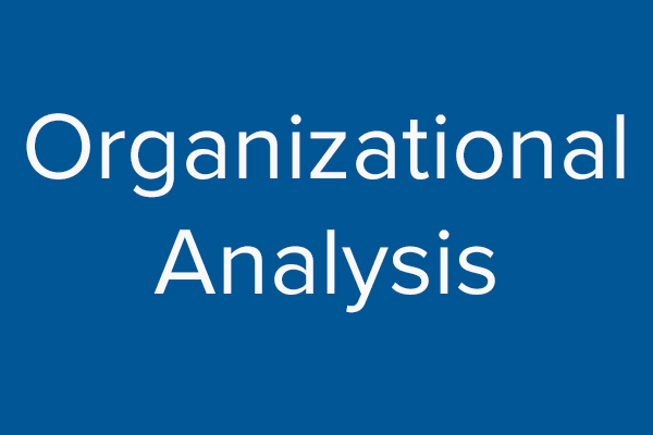 Understanding where your organization is today. - Read More