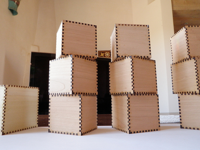Build a tower of boxes!