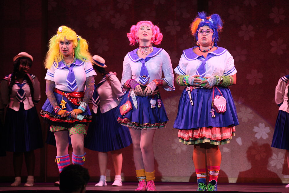Photo Credit: Carolyn Brown - The Mikado - Chautauqua Opera