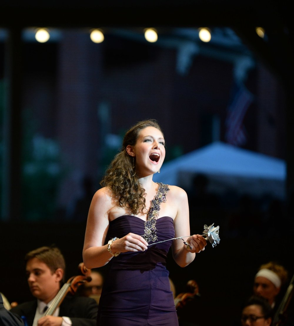 Photo Credit: Greg Funka - Opera Highlights - Chautauqua Opera