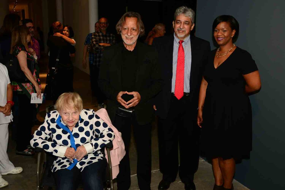 Sofía Imber, Rolando Peña, Jorge Gutierrez and Natasha Colebrook-Williams