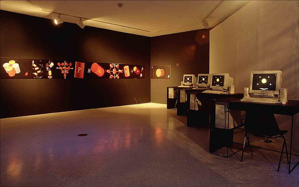 Rolando-Peña_01_Solo_The-Standard-Model-of-Matter_Barrel_Interactive-Installation-2_Caracas_1999.jpg