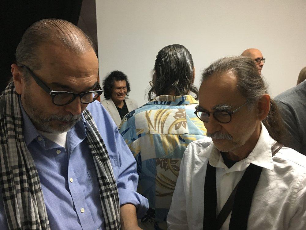 Eduard Reboll, Fernando Calzadilla