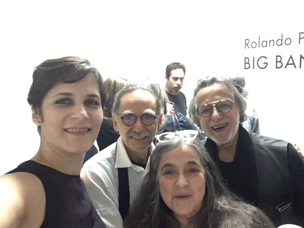 Karla Gomez, Fernando Calzadilla, Andres Manner, Elaiza Irizarry, Rolando Peña