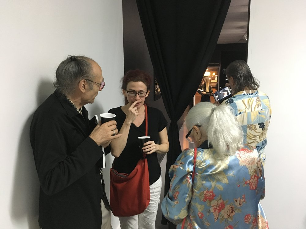 Antoni Miralda, Carolina Muñoz, Montse Guillén, Julio Neri