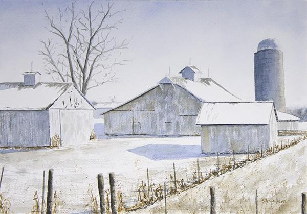 White Farm Buildings, Highway 157