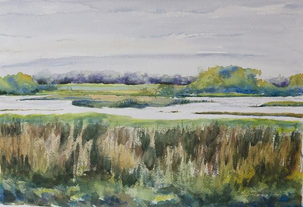 Beehunter Marsh, April