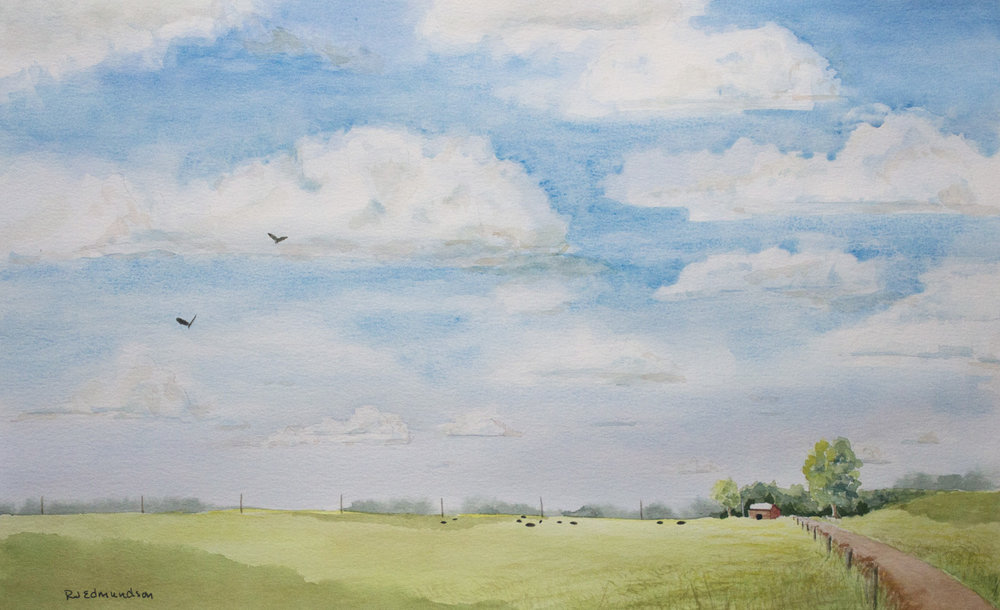 Clouds over May Pasture