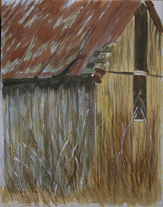 SOLD Tobacco Barn