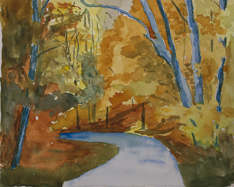 SOLD October Woods