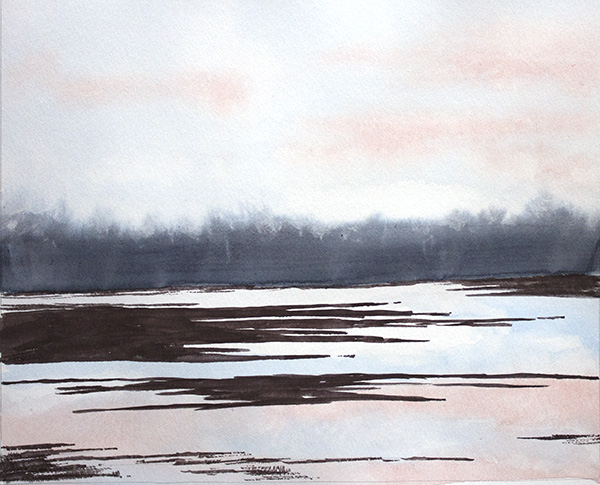 Goose Pond, April